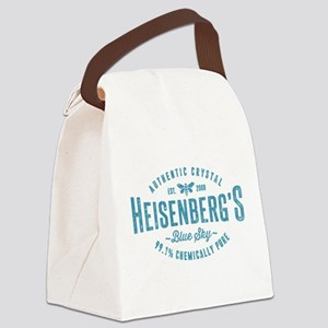 Heisenberg Blue Sky Breaking Bad Canvas Lunch Bag