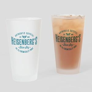 Heisenberg Blue Sky Breaking Bad Drinking Glass