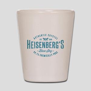 Heisenberg Blue Sky Breaking Bad Shot Glass
