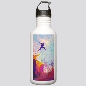 Parkour Urban Obstacle Stainless Water Bottle 1.0L