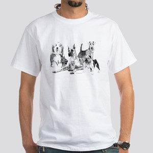 `Dogs, ALL kinds!' White T-Shirt