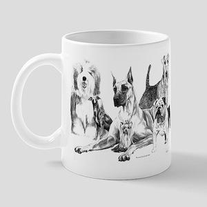 `Dogs, ALL kinds!' Mug