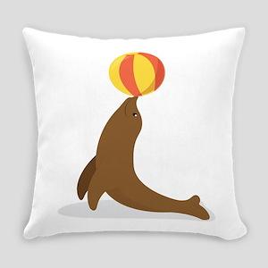 Circus Seal Everyday Pillow