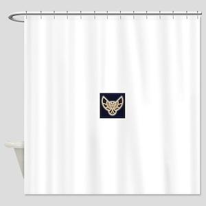 Electric Hawk Shower Curtain