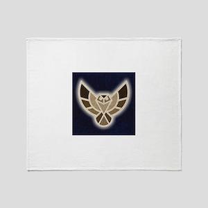 Electric Hawk Throw Blanket
