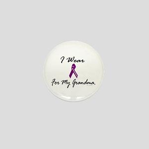 I Wear Purple 1 (Grandma PC) Mini Button