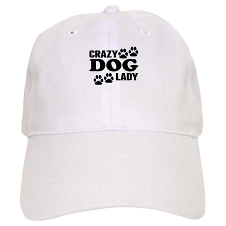 4c377d7db7a Crazy Dog Lady Baseball Baseball Cap by SLDogs