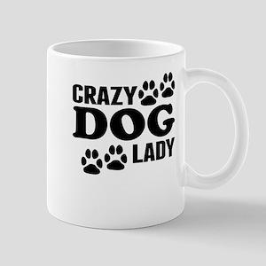 Crazy Dog Lady Mugs