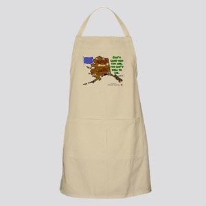 AK-Don't care. BBQ Apron