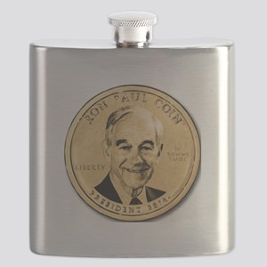 Ron Paul Coin Flask