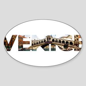 Venice Rialto canal typo Sticker