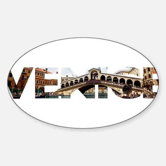 Venice Rialto canal typo Decal