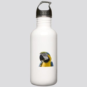 Blue and Yellow Macaw Stainless Water Bottle 1.0L