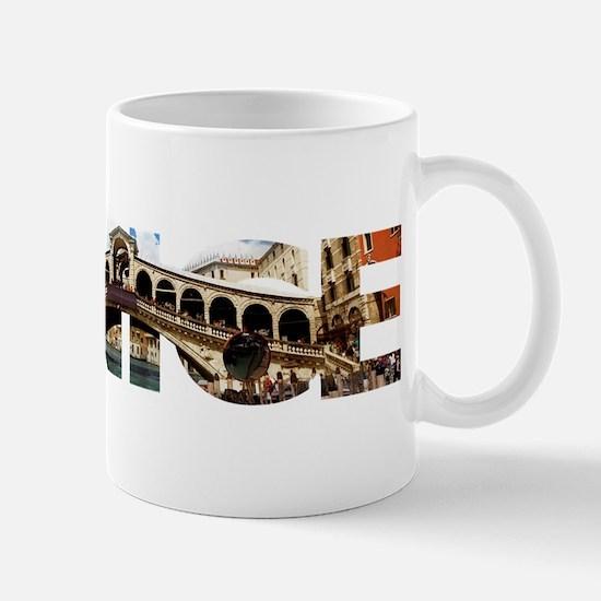 Venice Rialto canal typo Mugs