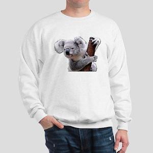 Koala Bear holding onto a tree Sweatshirt