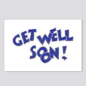 Get Well Soon! Postcards (Package of 8)