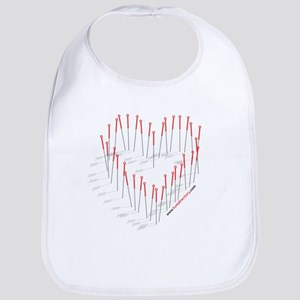 I HEART ACUPUNCTURE Bib