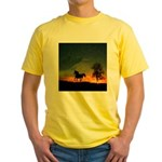 AFTM Old Stallion At Sunrise Yellow T-Shirt