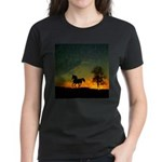 AFTM Old Stallion At Sunrise Women's Dark T-Shirt