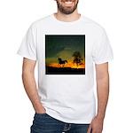 AFTM Old Stallion At Sunrise White T-Shirt