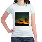 AFTM Old Stallion At Sunrise Jr. Ringer T-Shirt