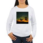 AFTM Old Stallion At Sunrise Women's Long Sleeve T