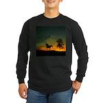AFTM Old Stallion At Sunrise Long Sleeve Dark T-Sh