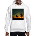 AFTM Old Stallion At Sunrise Hooded Sweatshirt
