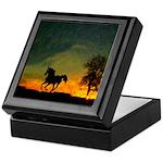 AFTM Old Stallion At Sunrise Keepsake Box