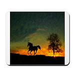 AFTM Old Stallion At Sunrise Mousepad