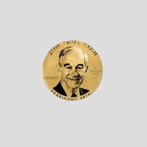 Ron Paul Coin Mini Button