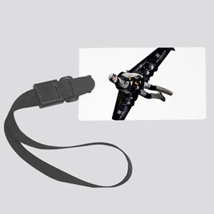 Jetpack Hoverboard Wing Man Flyi Large Luggage Tag