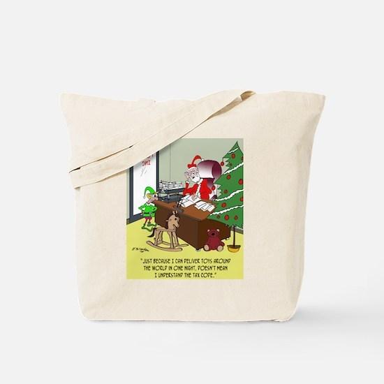 Tax Cartoon 9532 Tote Bag