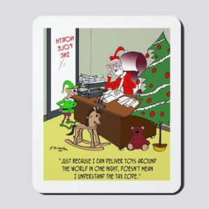 Tax Cartoon 9532 Mousepad