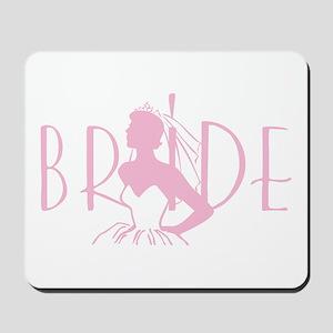 Strapless Bride Mousepad