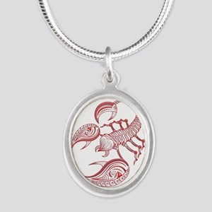 SCORPIO THE Scorpion RED Zodiac Sign Necklaces