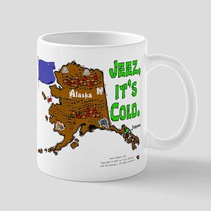 AK-Jeez cold. Mug