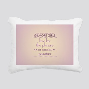 In Omnia Paratus Rectangular Canvas Pillow