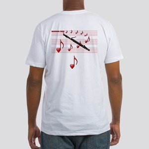 Bassoon Mom Fitted T-Shirt