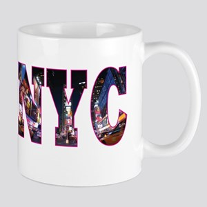 NYC New York blue Mugs