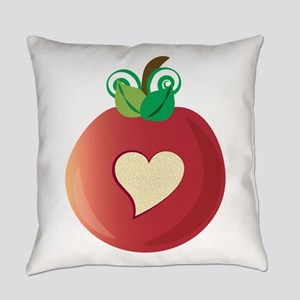 Red Apple Everyday Pillow