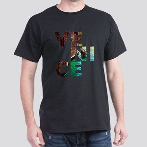 Venice Gondolier canal typo T-Shirt