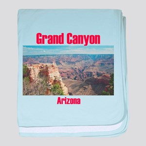 Grand Canyon baby blanket
