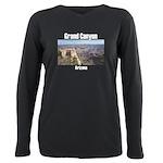 Grand Canyon Plus Size Long Sleeve Tee