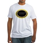 Save the Autistic Genius Fitted T-Shirt