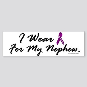 I Wear Purple 1 (Nephew PC) Bumper Sticker