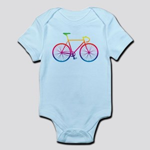 Road Bike - Rainbow Body Suit