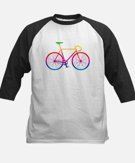 Road Bike - Rainbow Baseball Jersey