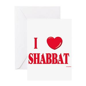 Shabbat greeting cards cafepress m4hsunfo