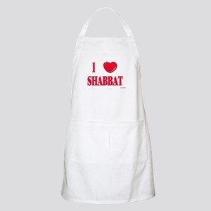 I Love Shabbat BBQ Apron